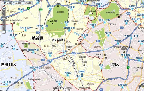 地図 印刷